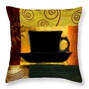 Awakening Throw Pillow by Lourry Legarde