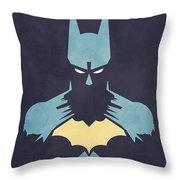 BATMAN Throw Pillow by Jason Longstreet