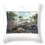 Battle Of Cold Harbor Throw Pillow by War Is Hell Store