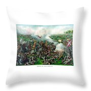 Battle Of Five Forks Throw Pillow by War Is Hell Store