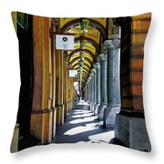 Beautiful Old Architecture Throw Pillow by Kaye Menner