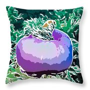 Beautiful Pink Clowfish Throw Pillow by Lanjee Chee