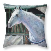 Beauty Throw Pillow by Arline Wagner