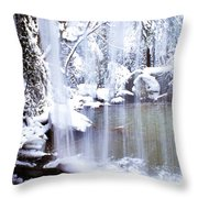 Behind The Veil Throw Pillow by Thomas R Fletcher