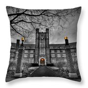 Behold The Night Throw Pillow by Evelina Kremsdorf