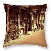 Beijing City 8 Throw Pillow by Xueling Zou
