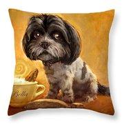 Bella's Biscotti Throw Pillow by Sean ODaniels