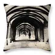 Berlin Arches Throw Pillow by Andrew Paranavitana