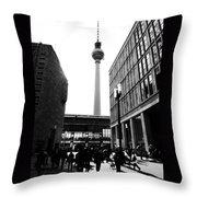 Berlin Street Photography Throw Pillow by Falko Follert