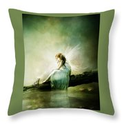Best Of Friends Throw Pillow by Mary Hood