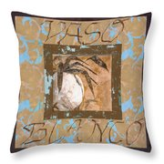 Bianco Vinaccia Throw Pillow by Guido Borelli