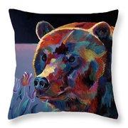 Big Ben Throw Pillow by Bob Coonts