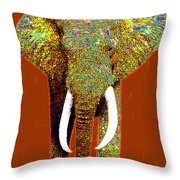 Big Elephant 20130201p20 Throw Pillow by Wingsdomain Art and Photography