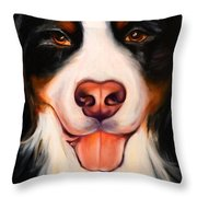 Big Willie Throw Pillow by Shannon Grissom
