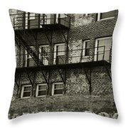 Billiards And Pool Throw Pillow by Melany Sarafis