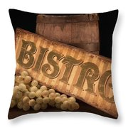 Bistro Still Life IIi Throw Pillow by Tom Mc Nemar