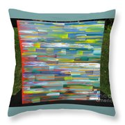 Blindsided Throw Pillow by Jacqueline Athmann