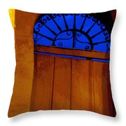 Blue Twilight by Michael Fitzpatrick Throw Pillow by Mexicolors Art Photography