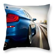 BMW Throw Pillow by Lanjee Chee