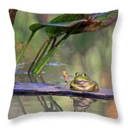 Boardwalk Throw Pillow by Donna Kennedy
