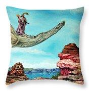 Bogomils Journey Throw Pillow by Otto Rapp