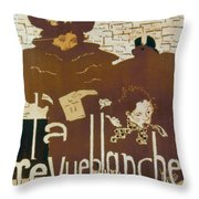 BONNARD REVUE 1894 Throw Pillow by Granger