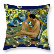Book of dreams Throw Pillow by Kurt Van Wagner