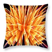 Boom Throw Pillow by Diane E Berry
