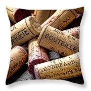 Bordeaux Throw Pillow by Olivier Le Queinec