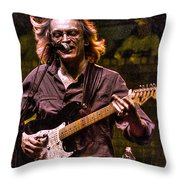Bottle Of Water Throw Pillow by William Fields