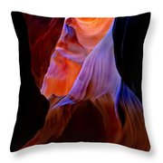 Bottled Light Throw Pillow by Mike  Dawson