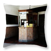 Box Office 1 Throw Pillow by Marilyn Hunt