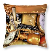 Boyhood Treasures 2 Throw Pillow by Lawrence Christopher