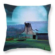Breath Of Winter Throw Pillow by Jan Amiss Photography
