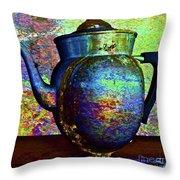 Brewing Nostalgia Throw Pillow by Gwyn Newcombe