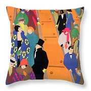 Brightest London Is Best Reached By Underground Throw Pillow by Horace Taylor