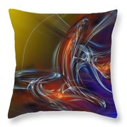 Buddhist Protest Throw Pillow by David Lane