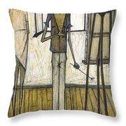 Buffet: Artist, 1948 Throw Pillow by Granger