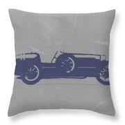 Bugatti Type 35 Throw Pillow by Naxart Studio