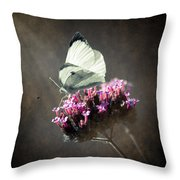 Butterfly Spirit #02 Throw Pillow by Loriental Photography