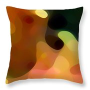 Cactus Fruit Throw Pillow by Amy Vangsgard