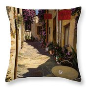 Cafe Piccolo Throw Pillow by Guido Borelli