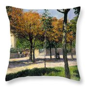 Caillebotte: Argenteuil Throw Pillow by Granger