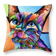 Calypso Throw Pillow by Sherry Shipley