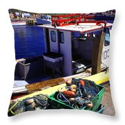 Cape Breton Island Throw Pillow by Thomas R Fletcher