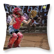 Catch It Throw Pillow by Kelley King