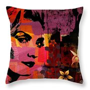 Celebrating Life Throw Pillow by Ramneek Narang