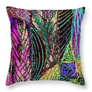 Celebration of Spring Throw Pillow by Wayne Potrafka