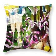 Celebration Throw Pillow by Sarah Loft
