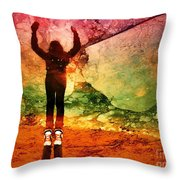 Celebration Throw Pillow by Tara Turner